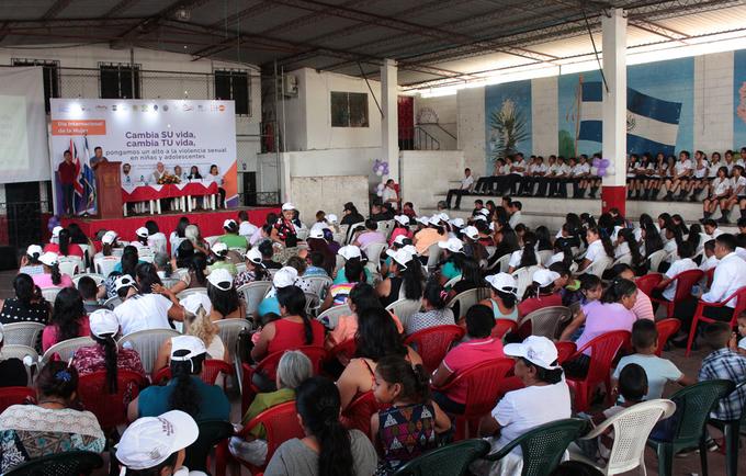 con el apoyo del reino unido se mejora abordaje y el cuidado de nias y vctimas de violencia sexual en san rafael cedros