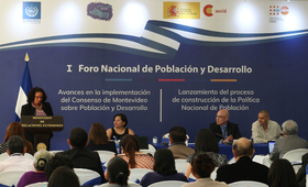 El Salvador destaca avances en la aplicación del Consenso de Montevideo sobre Población y Desarrollo
