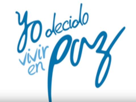 YO DECIDO VIVIR EN PAZ -videoclip